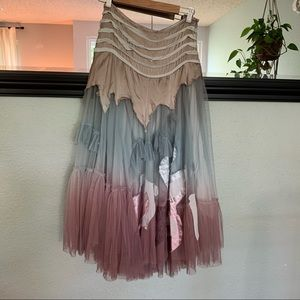 Paco Soler tulle and silk fairy skirt